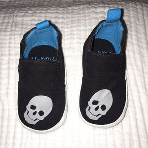Happy baby skull crib shoes for babies
